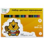 """""""KANZY"""" BKR-36 Набор цветных карандашей 36 цв."""