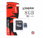 Карта памяти Kingston SDC10G2/8GB