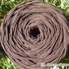 Трикотажная пряжа цвет шоколад, 100м
