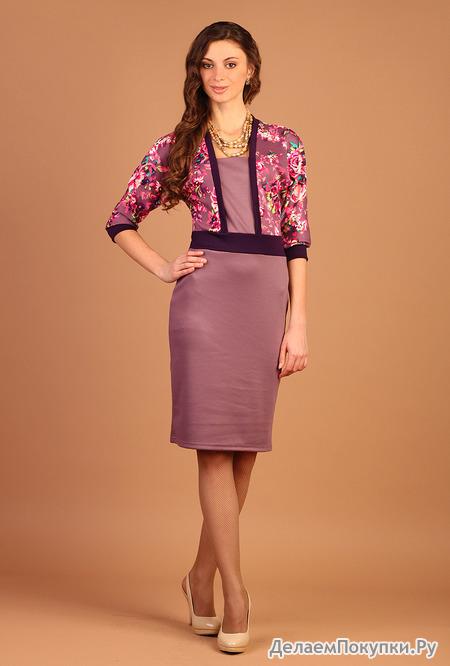 Платье П1524