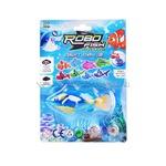 Рыбка аквариумная 75-3 на батарейках на планшете