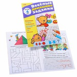Книга Веселые домашние задания для детей 6 лет