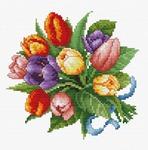 6013-14 Тюльпаны (Белоснежка)
