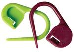 """KNPR.10805 Knit Pro Маркировщик для петель """"Булавка"""", пластик, зеленый/красный, 30шт в упаковке"""