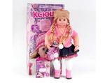 Кукла интерактивная Ксюша 5334, говорит 19 фраз, знает скороговорки