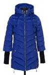 04-0591 Куртка демисезонная (Синтепон 200) Плащевка Сапфир