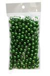 Бусинки 8 мм, 50 гр (зеленый)