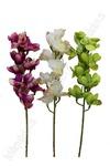 Орхидея (силиконовая )с запахом, в ассортименте (цена за 1 шт.)