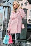 Нежное трендовое пальто