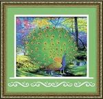 8422 Павлин - мозаика Anya
