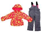 Куртка+полукомбинезон д/д розовый демисезон