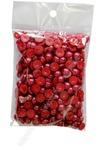 Бусинки половинки под жемчуг 8 мм 50 гр (красный)