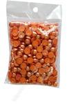 Бусинки половинки под жемчуг 8 мм 50 гр (темно-оранжевый)