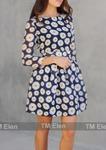 Платье Demi ромашки