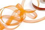 Лента капрон IDEAL арт.JF-001 шир.6мм цв.011 (4071/3024) яр.оранжевый