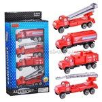 Набор машин 1028-3ZYB-B Пожарные в коробке