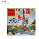 "Конструктор 807 ""Combat Zones. Cornets"" (17 дет.) в коробке 872386/050-26272"