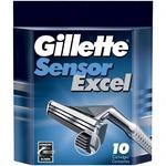 Gillette Sensor Excel сменные лезвия (10 шт)