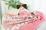Одеяло бамбук в поплине (стежка) 150 гр  1.5