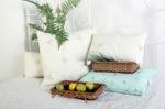 Подушка бамбук на молнии