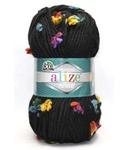 FLOWER (Alize), 70% акрил; 25%шерсть; 5%полиамид, 100гр-80м