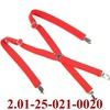 2.01-25-021-0020 подтяжки взрослые красный