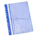 Папка 10 вкладышей STAFF с перфорацией, мягкая, синяя, 0,16мм, 224974Код: 159888