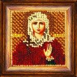 Набор для вышивания Вышивальная мозаика арт. 038ПМИ.Св.Мученица Галина 6,5х6,5см