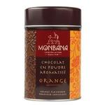 """Горячий шоколад Monbana """"Апельсин"""" 250 грамм"""