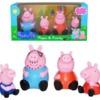 Набор - Семья свинки Пеппы. Peppa Pig - игрушка резиновая