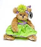 """Игрушка """"Bearington"""" Мишка в салатовом платье и шляпке 25 см (143237)"""