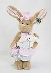 """Игрушки серии """"Bearington"""" Зайка в платье и с игрушкой зайкой в руке 36 см (986082)"""