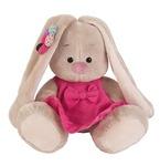 """Игрушка мягконабивная """"Зайка Ми"""" в розовом сарафане (малыш 15 см) SidX-144."""