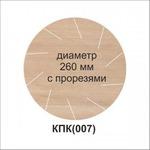 КРУГЛЫЙ тефлоновый коврик (С ПРОРЕЗЯМИ)  260*180мм