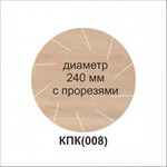 КРУГЛЫЙ тефлоновый коврик (С ПРОРЕЗЯМИ) 240* 160 мм АКЦИЯ !!!