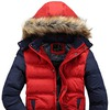 Wantdo Men's Casual Hooded Qulited Jacket with Removable Hood