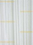 Веревочные шторы ''Спирали'' белые