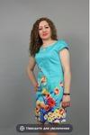 Платье с капелькой бирюзовое
