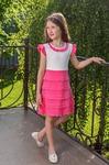 """Платье """"Варенька"""", розовый"""