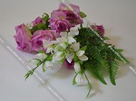 букет роз с гладиолусом и папоротником ROZ_GLAD_PAPOROT-10-63-8-L