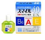 Капли для глаз Lion Smile 40 EX (лечебная искусственная слеза)