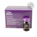 Wella balance сыворотка против выпадения anti hair loss 8*6мл