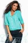 Оригинальная блуза-oversize 42 44 46