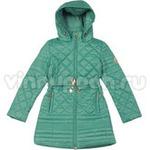 Стильное весеннее пальто KIKO для девочки ПАТРИЦИЯ (бирюза), 9-15 лет
