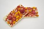 """Шоколад """"Экстра"""" белый с сублимированными ягодами. 50 гр"""