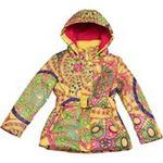 Стильная весенняя куртка KIKO для девочки FELICITA (песок), 6-10 лет