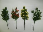 Цветы 633943 букет зелень М1360 манка