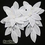 Бутоньерки FLA-6 (2шт) цв.белый