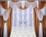 Комплект штор Афродита:4 метра