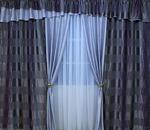 Светонепроницаемый комплект штор Вальс С из блэкаута: